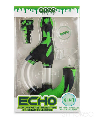 Ooze Echo Silicone Water Pipe & Nectar Collector