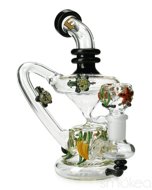 Empire Glassworks Mini East Australian Current Recycler - SMOKEA