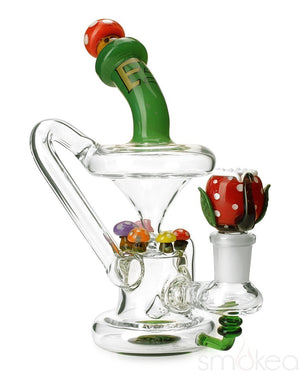 Empire Glassworks Mini Mushroom Recycler - SMOKEA