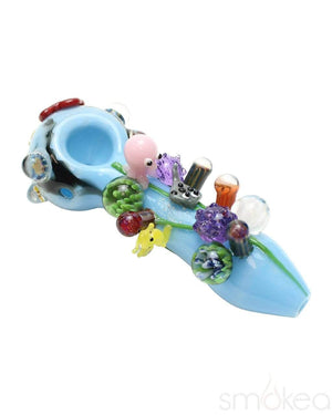Empire Glassworks Small Great Barrier Reef Spoon Pipe - SMOKEA