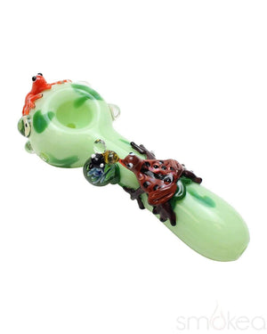Empire Glassworks Small Ribbit Spoon Pipe - SMOKEA