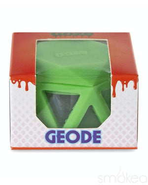 Ooze Geode Silicone & Glass Storage Jar