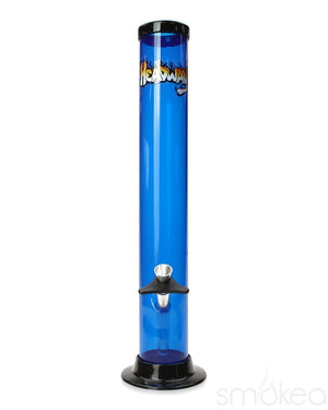 "Headway 14"" Straight Acrylic Bong - SMOKEA"