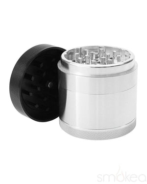 "Kannastor 2.2"" Solid Top 4pc Grinder - SMOKEA"