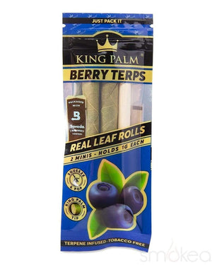 King Palm Mini Berry Terps Pre-Rolled Cones (2-Pack)