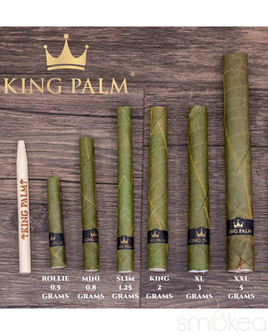 King Palm Slim Banana Cream Pre-Rolled Cones (2-Pack)