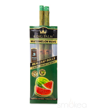 King Palm Slim Watermelon Wave Pre-Rolled Cones (2-Pack)