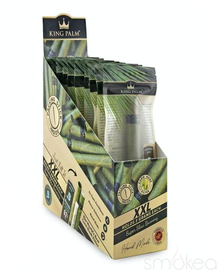 King Palm XXL Natural Pre-Rolled Cone w/ Boveda Pack