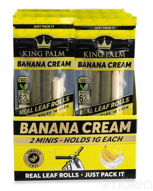 King Palm Mini Banana Cream Pre-Rolled Cones (2-Pack)