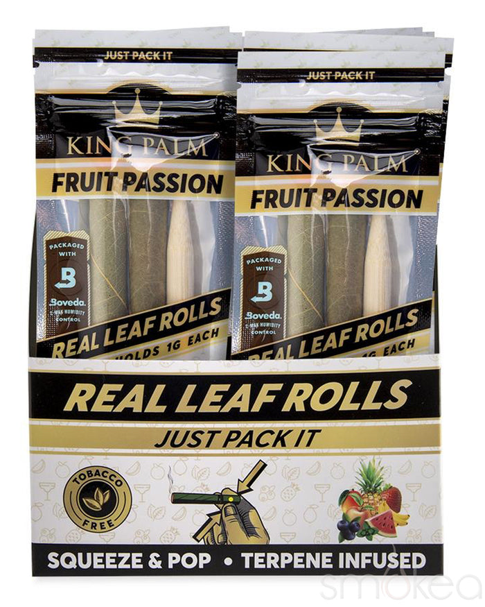 King Palm Mini Fruit Passion Pre-Rolled Cones (2-Pack)