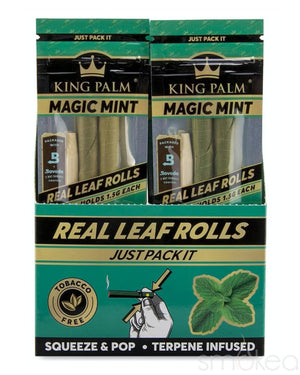 King Palm Slim Magic Mint Pre-Rolled Cones (2-Pack)