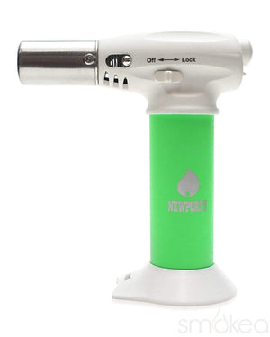 "Newport Zero 5"" Junior Turbo Torch Butane Lighter Green"