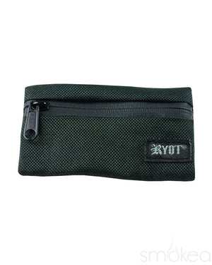 RYOT Medium PackRatz Carbon Series Pipe Case - SMOKEA