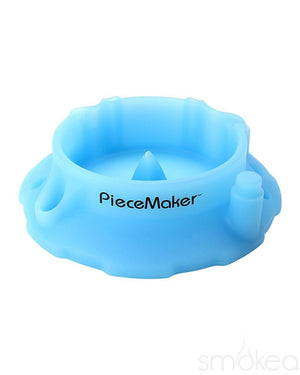 Piecemaker Ashtrays Blue Piecemaker Kashed Silicone Ashtray