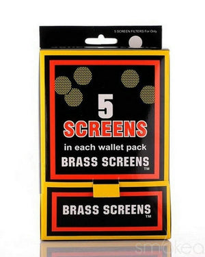 SMOKEA Brass Pipe Screens (5-Pack)