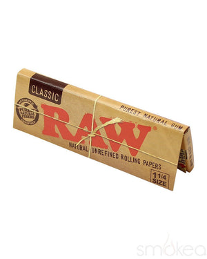 Raw Classic 1 1/4 Rolling Papers - SMOKEA
