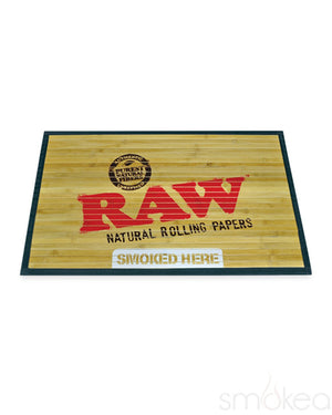 Raw Large Bamboo Floor Mat