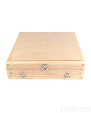 RYOT 15x15 Natural Wood Screen Box - SMOKEA