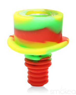 "SMOKEA 14mm/18mm ""Bolt"" Silicone Bowl"
