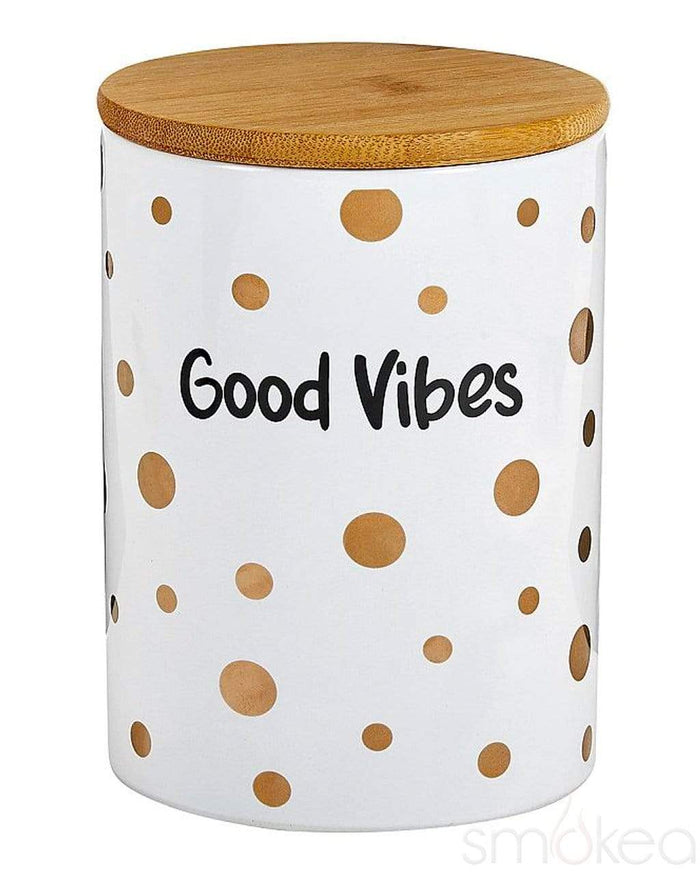 "SMOKEA ""Good Vibes"" Luxury Stash Jar"
