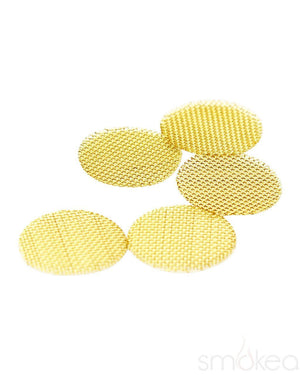 SMOKEA Screens Small SMOKEA Brass Pipe Screens (5-Pack)