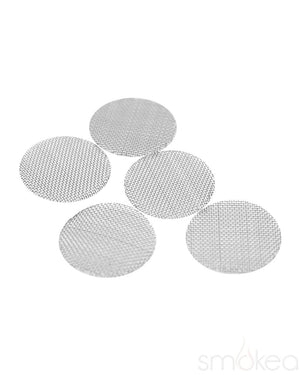 SMOKEA Stainless Steel Pipe Screens (5-Pack)