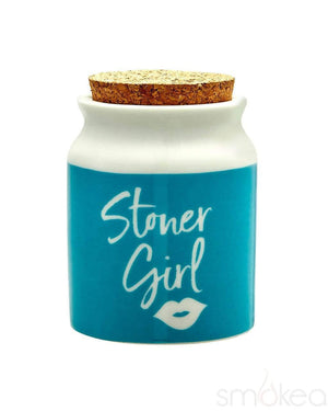 "SMOKEA ""Stoner Girl"" Stash Jar"