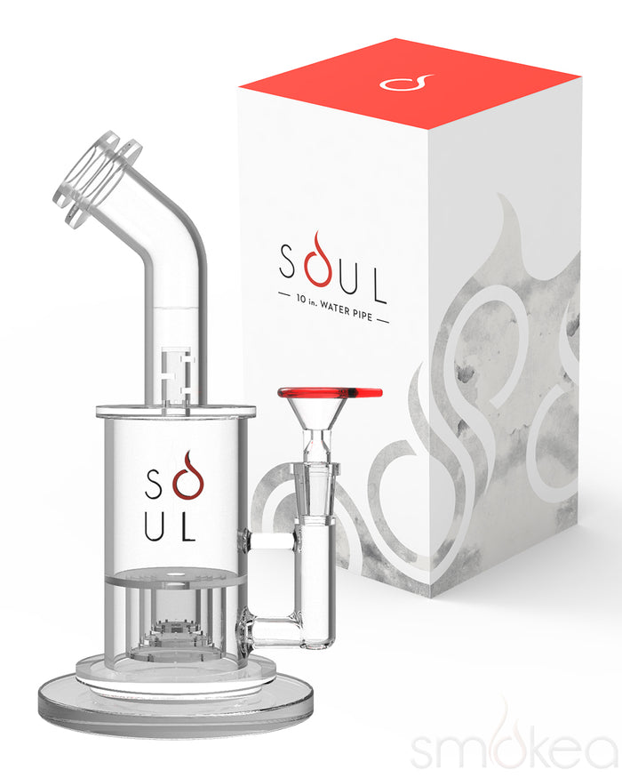 "SOUL 10"" Slit Percolator Incycler Bong"