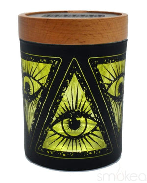 "V Syndicate ""Illuminati Yellow"" SmartStash Jar Medium"