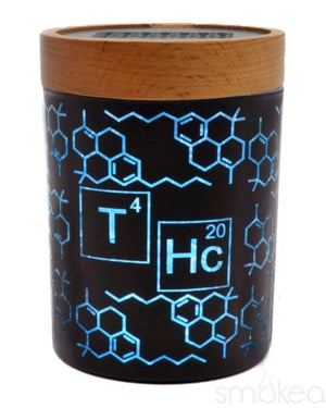 "V Syndicate ""THC Elemental Blue"" SmartStash Jar Medium"