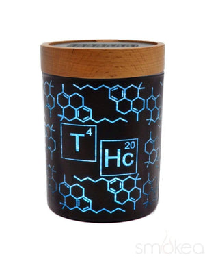"V Syndicate ""THC Elemental Blue"" SmartStash Jar Small"