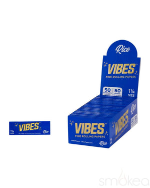 Vibes 1 1/4 Rice Rolling Papers - SMOKEA
