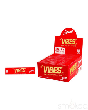 Vibes King Size Slim Hemp Rolling Papers
