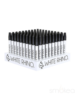 White Rhino Ceramic Straw