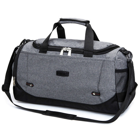VKTERY New Travel Bag Large Capacity Men Hand Luggage Travel Duffle Bags Nylon Weekend Bags Multifunctional Travel Bags