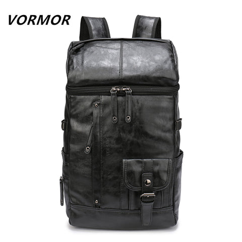 VORMOR High Quality Waterproof PU Backpack for Laptop, Notebook 14 to 17 Inch Travel bag