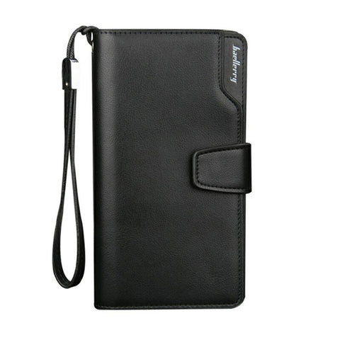 (Promotion) Card holder Wallets men Long Design Quality passport cover Fashion Casual Mens Purse Zipper Quality coin purse 7XNew