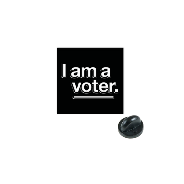 I am a voter. pin