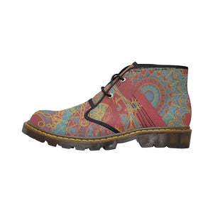 Rouge of Gold, short boot, Women's Canvas Chukka Boots