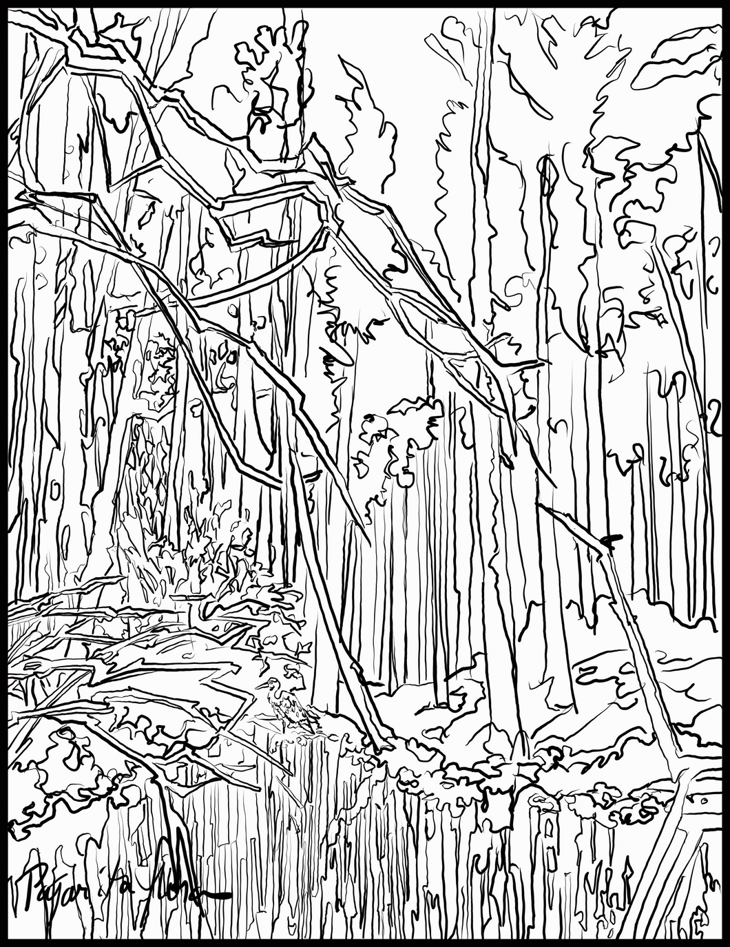 March Paddle Coloring Page download