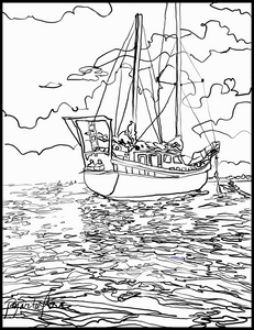 Explorer Coloring Page download FREE