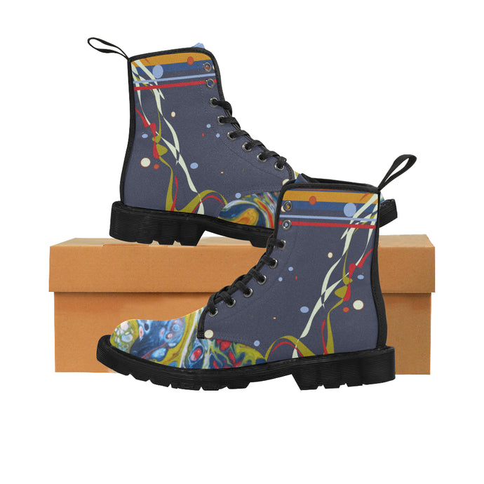 Fluid Confetti Martin Boots for Women