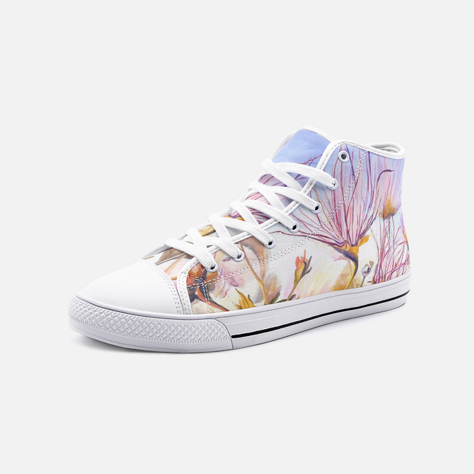 Apache Plume, Unisex High Top Canvas Shoes