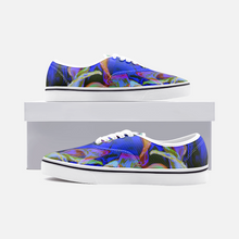 Load image into Gallery viewer, Ripple Alterations, Unisex Canvas Shoes, Low Cut Loafer Sneakers