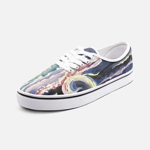 Under The Sea Unisex Canvas Shoes Low Cut Loafer Sneakers