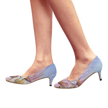 Load image into Gallery viewer, Apache Plume Kitten Heels, Women's Pointed Toe Low Heel Pumps