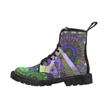 Load image into Gallery viewer, Psychedelic mandala Martin Boots for Women