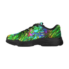 Load image into Gallery viewer, Spring Grass, Women's Running Shoes (Model 058)
