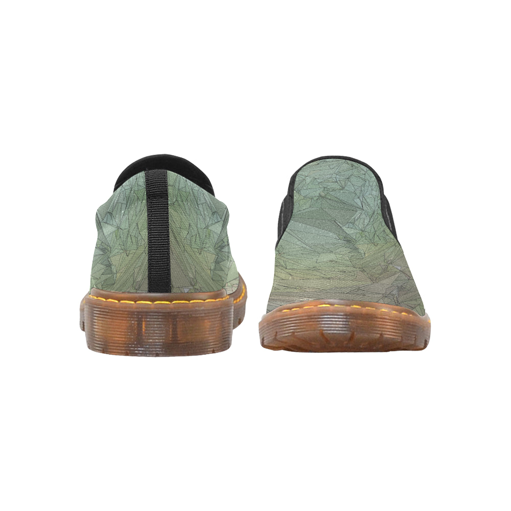 DESERT ABSTRACT CAMO Martin Women's Slip-On Loafer