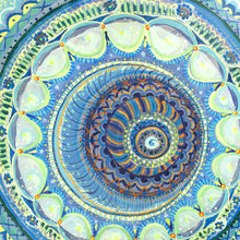 Load image into Gallery viewer, Blue Mandala Groove
